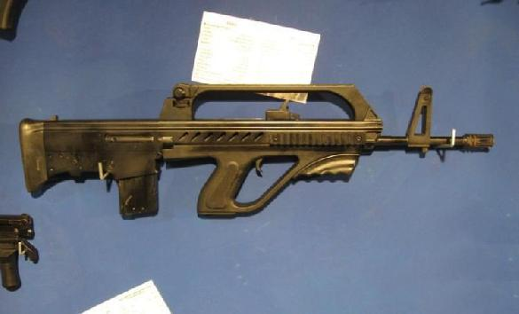 Iranian DIO Khaybar KH-2002 5.56x45mm bull-pup assault rifle