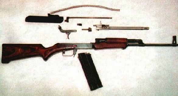 AO-27 flechette rifle