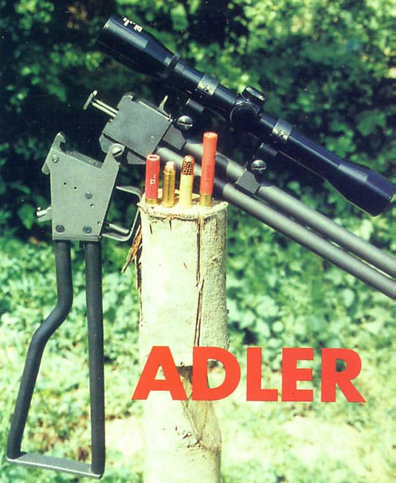 ADLER Survival Rifle  Adler Survival Rifle in calibers 44-40 & 410 Magnum, Italia