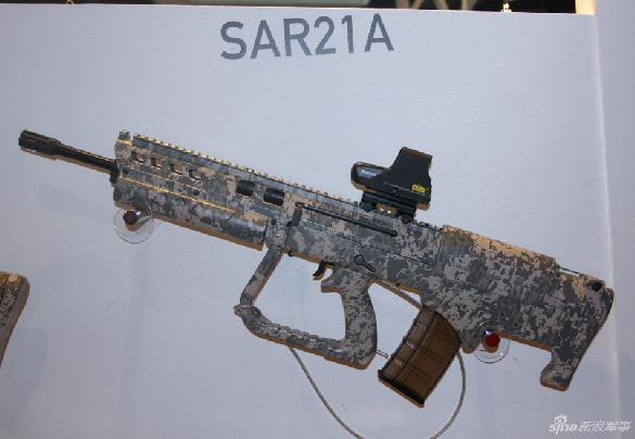 SAR-21A Assault Rifle